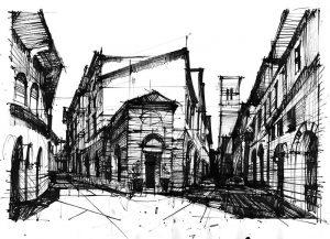 egzamin na architekture - tusz