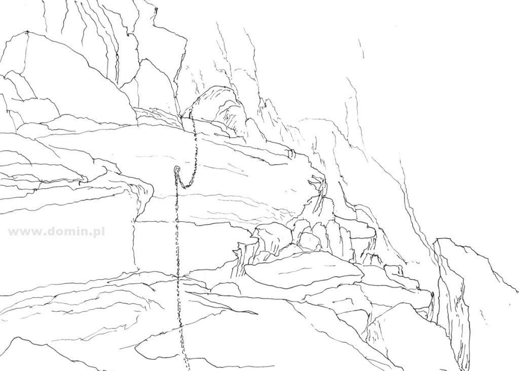rysowanie skał