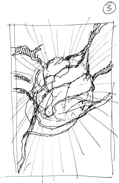 concept art szkic wstępny