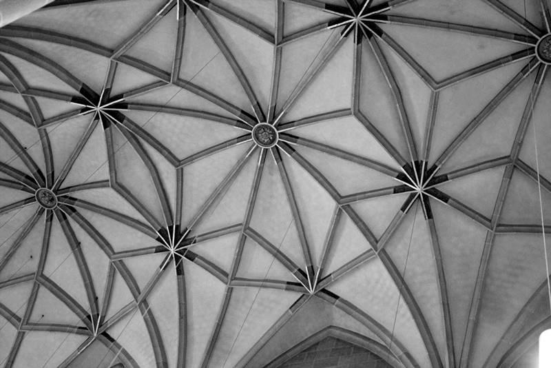 sklepienie gotyckie