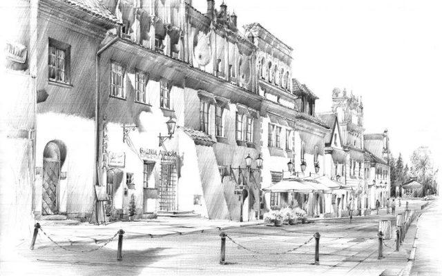 kurs rysunku na architekture