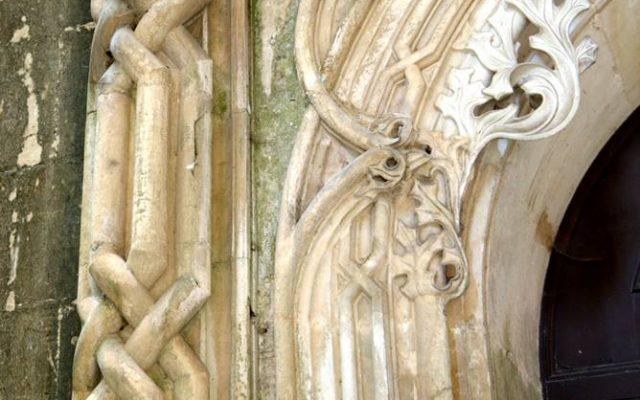 laskowanie gotyckie