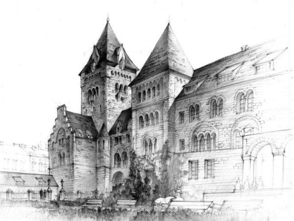jak rysować architekturę