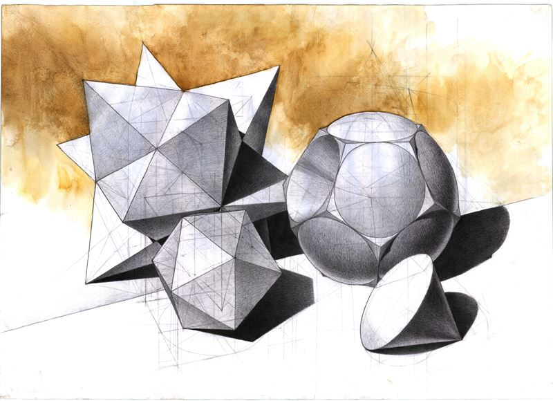 geometria rysunkowa perspekywa