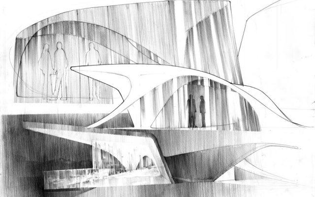 architekt rysuje