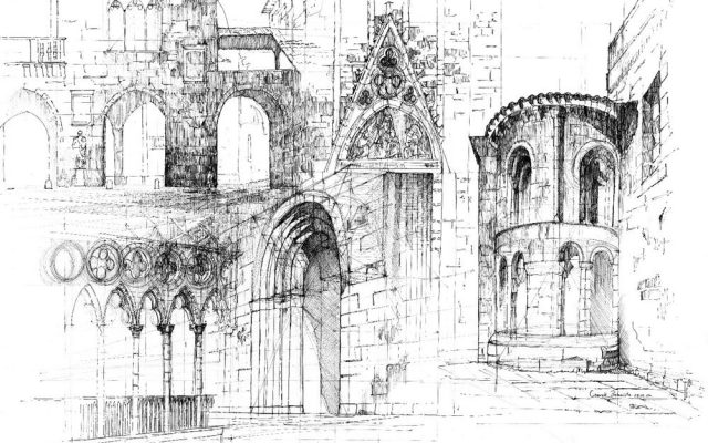 plansza rysunkowa architektoniczna