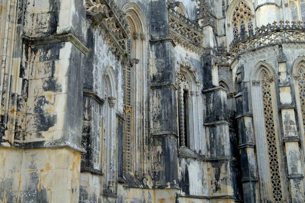 gotycka ściana