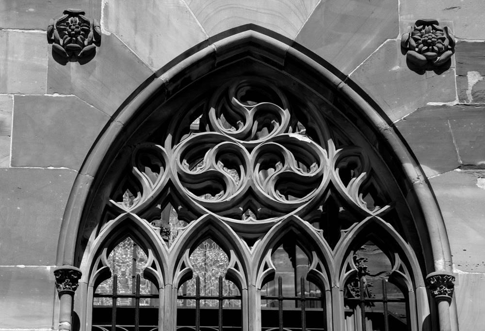 maswerk detal gotycki