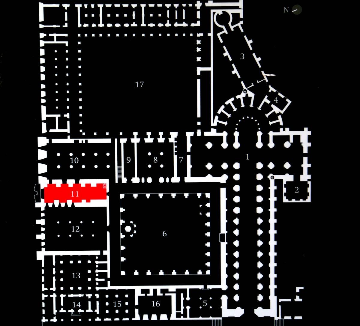 plan opactwa cysterskiego