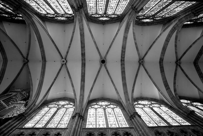 sklepienie gotyckie zebrowe