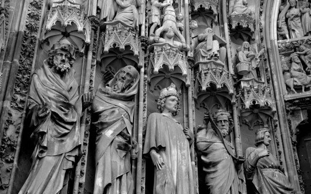 rzeźba gotycka