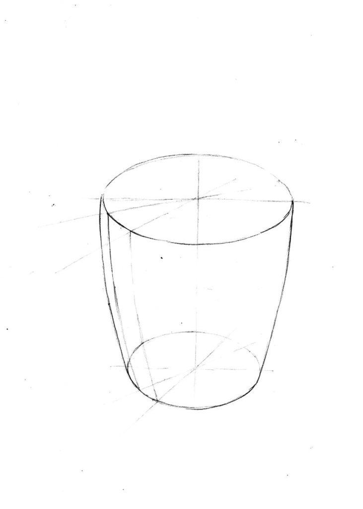 rysunek od podstaw elipsy