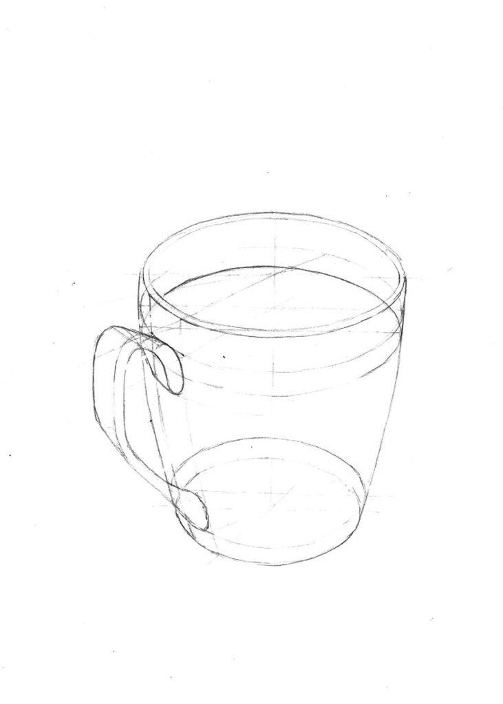 analiza struktur wewnętrznych - rysunek strukturalny