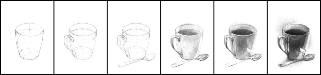 darmowe lekcje rysunku od podstaw ołówek
