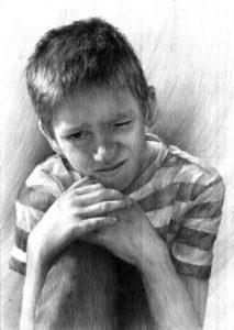 jak rysować portret