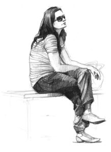 szkicowanie postaci ludzkiej